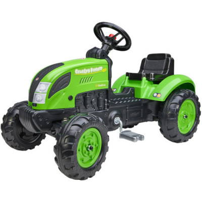 Tractor cu Pedale Country Farmer Green foto