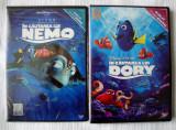 ÎN CĂUTAREA LUI NEMO [2003] + DORY [2016] (DISNEY/PIXAR SIGILATE, ROMÂNĂ), DVD, Romana, disney pictures