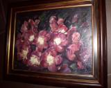 34 Petunii reproducere Tonita, tablou cu flori, Tablouri florale 44x33 cm