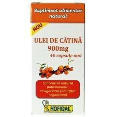 Ulei de catina 900 mg 40 capsule moi - Hofigal foto