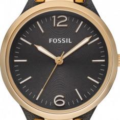 Fossil, Ceas cu o curea ingusta de piele Georgia