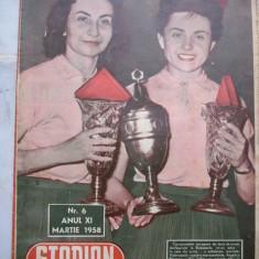 Revista Stadion nr.6-1958