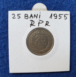 Moneda Republica Populara Romana 25 Bani 1955 - in stare foarte buna