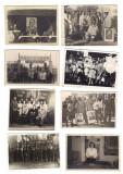 Lot 38 fotografii tematica propaganda comunista manifestatie Romania