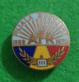 Insigna AFR Filiala Bucuresti clasa a III-a