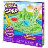 Cumpara ieftin Set nisip kinetic complet verde Kinetic Sand