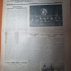 sportul popular 22 martie 1954-prima etapa a campionatului fotbal,sah,atletism