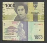 INDONEZIA INDONESIA 1000 1.000  RUPII RUPIAH 2016 , UNC [1] P-154a , necirculata