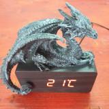 Ceas digital de birou Dragon