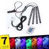Kit banda LED SMD RGB pentru interor cu telecomanda