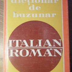 DICTIONAR DE BUZUNAR ITALIAN-ROMAN - V. ANI, D. CONDREA-DERER