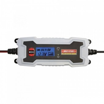 Redresor auto SMA Smart LCD, 6-12V, 1.2-120Ah foto