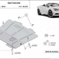 Scut motor metalic Opel Cascada 2013-prezent