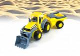 Tractor Excvator cu remorca - Miniland