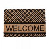 Covoras usa Welcome Beige - Black