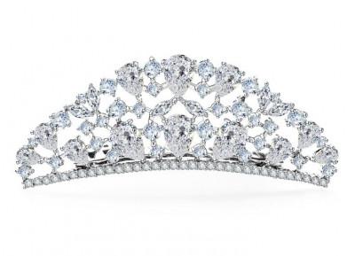 Tiara Borealy Luxury Bride Pieptane foto