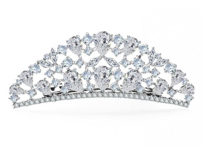 Tiara Borealy Luxury Bride Pieptane