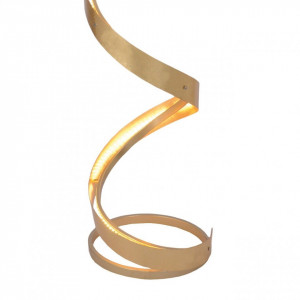 Lampadar LED Firenze - otel auriu