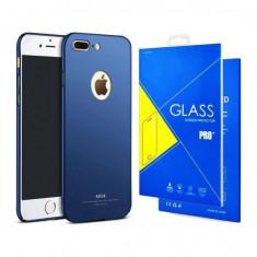 Husa MSVII Rosie Folie Protectie Sticla Pentru Apple Iphone 7 PlusIphone 8 Plus