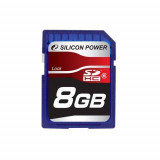 Card de memorie Silicon Power 8GB SDHC Clasa 6