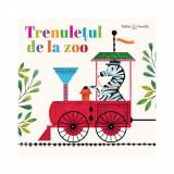 Carte cu puzzle Editura Litera, Trenuletul de la zoo