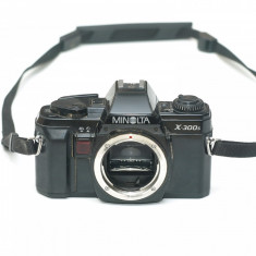Minolta X300s - stare buna dar pentru piese / reparat
