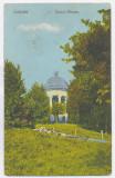 1032 - CRAIOVA, Bibescu Park, Romania - old postcard - used - 1923