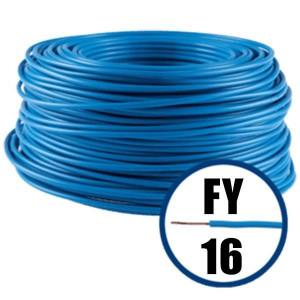 Cablu electric FY 16 – 100 M – H07V-R – albastru