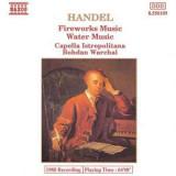 HANDEL : Fireworks Music / Water Music  ( CD )