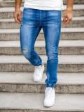 Blugi jogger bleumarin Bolf KA1720