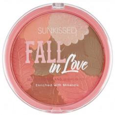 Pudra Bronzanta Iluminatoare SUNKISSED Fall In Love 28.5 g