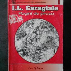 I. L. CARAGIALE - PAGINI DE PROZA