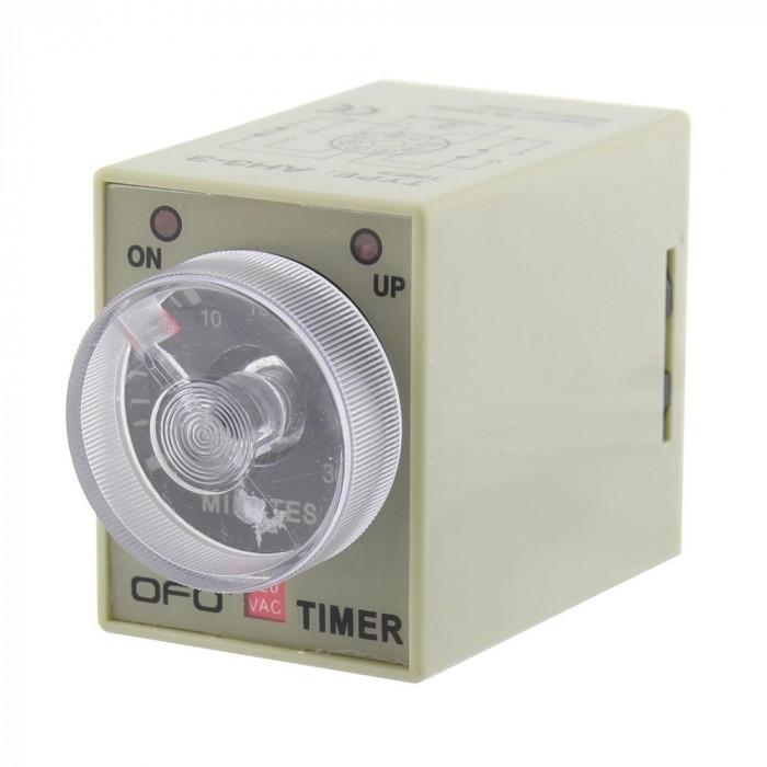 Releu temporizator, 0-2 minute, ST3 - 111324
