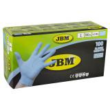 Manusi unica folosinta negre 100 buc/cutie. (JBM), din nitril