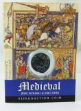 """Monedă Medievală din timpul regelui Richard I """"Inimă de Leu"""", reproducere, Europa"""