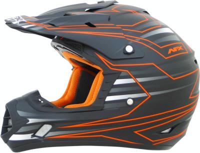 Casca Cross/ATV AFX FX-17 Mainline culoare portocaliu marime L Cod Produs: MX_NEW 01104437PE foto