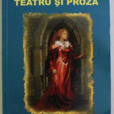 TEATRU SI PROZA de VASILE ALECSANDRI , 2007