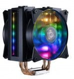 Cooler CPU Cooler Master MasterAir MA410M, Iluminare RGB (Negru), Coolermaster