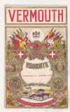 bnk div Eticheta de vermut veche