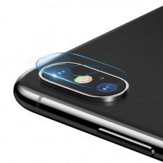 "Set 2 x Folii Sticla Baseus pentru Camera Iphone XS Max 65"" 015mm Transparent"