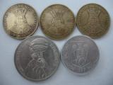 Romania (59) - 20 Lei 1991, 1992, 1993, 100 Lei 1994, 500 Lei 1999