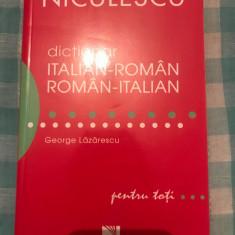 Dictionar italian -roman roman-italian George Lazarescu