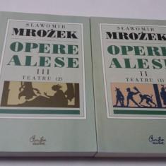 Slawomir Mrozek - Opere alese (vol. 2-3) (Teatru)  R0