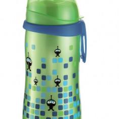 Cana First Cup Boy PP 330 ml, cu clip de prindere, 12+ luni, nip 35049
