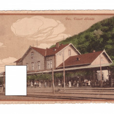 CP Dej - Gara, 1916, circulata, animata, exelenta