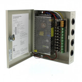 Sursa in comutatie AC-DC Well, 120 W, 12 V, 10.0 A, 9 canale