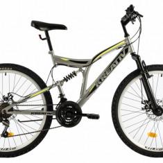 Bicicleta Mtb Kreativ 2643 M Gri 26 Inch