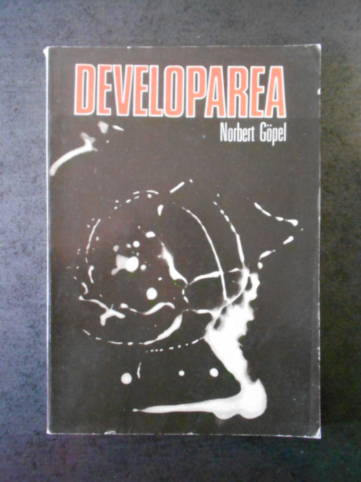 NORBERT GOPEL - DEVELOPAREA MATERIALULUI ALB-NEGRU
