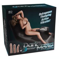 Masina Sex, Dark Magic Thrusting Bed, 3 Vibratoare