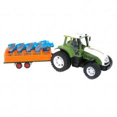 Tractor Farm Vehicle, remorca si plug
